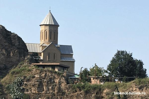 фото крепости Нарикала (Тбилиси, Грузия)
