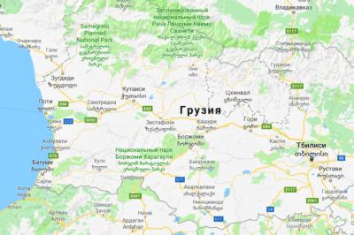 Военно-грузинская дорога на карте достопримечательности путеводитель