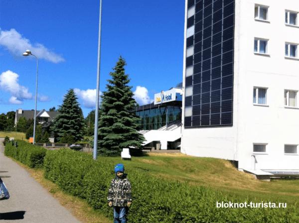 Отель Тойла в Эстонии