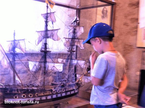 В музее Нарвского замка Германа