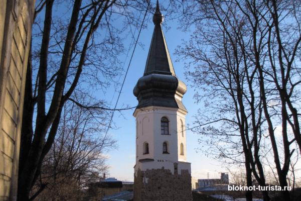 Башня Ратуши - достопримечательность Выборга