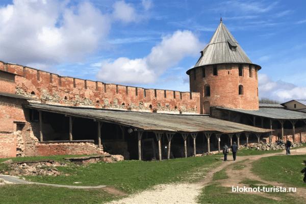 Кром - Федоровская башная в Великом Новгороде