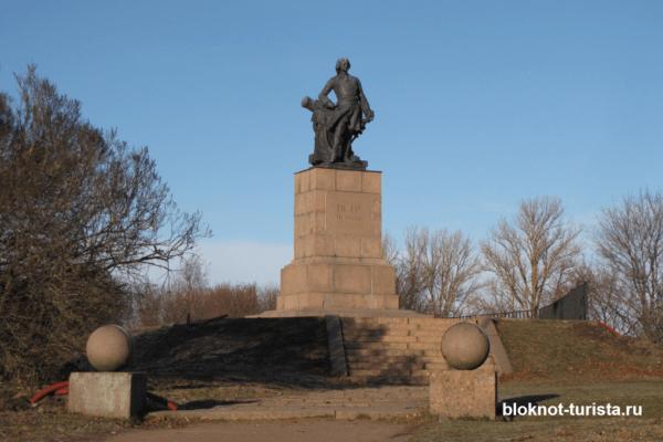 Памятник Петру Первому в Выборге