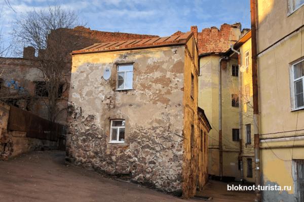 Самый старый жилой дом - Выборг
