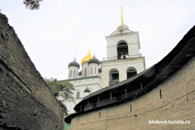 главные достопримечательности Пскова - Кром
