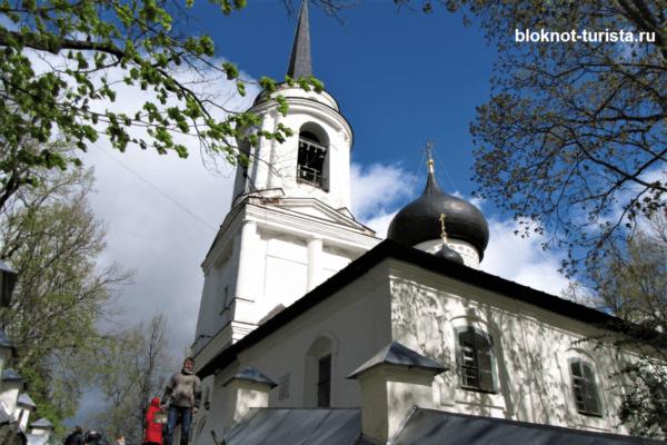 Святогорский Свято-Успенский монастырь в Пскове