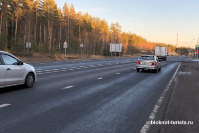 """Едем на автомобиле в Выборг по трассе """"Скандинавия"""""""
