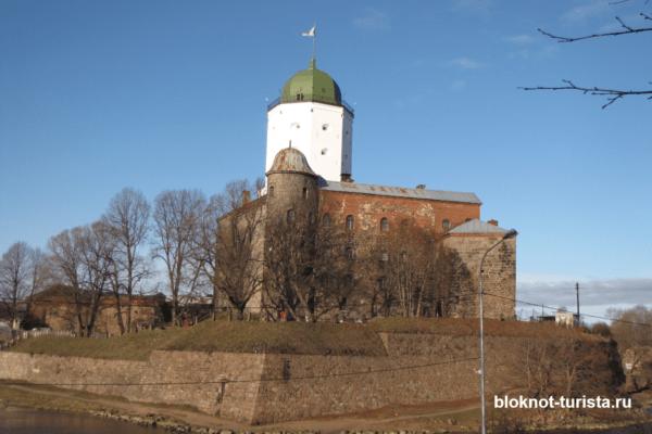 Выборгский замок - главная достопримечательность города