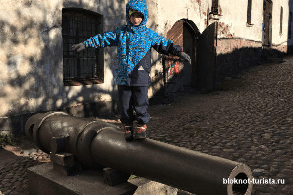 Мы с экскурсией в Выборгском замке
