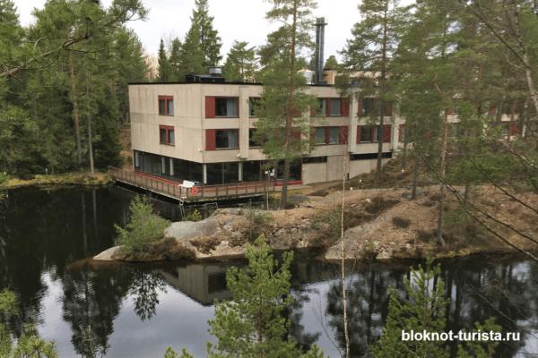 Отель Korpilampii в Финляндии