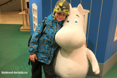Мумми-тролль - любимый герой сказок в Финляндии