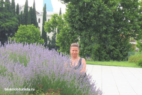 Гуляем в парке Рике в Тбилиси