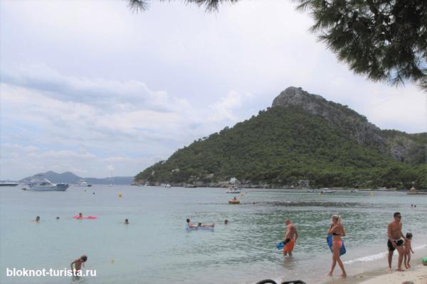 Красивейший пляж Кала Форментор на испанском острове Майорка