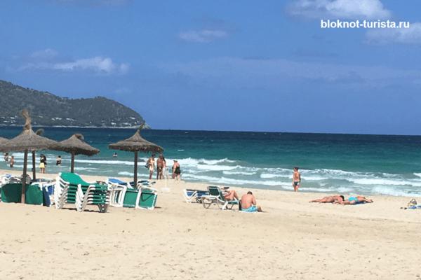 Курорт Кала Миллор на испанском острове майорка