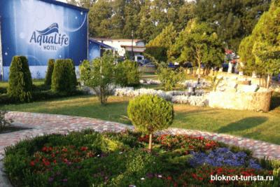 Отель Аквалайф в Кранево (Болгария)