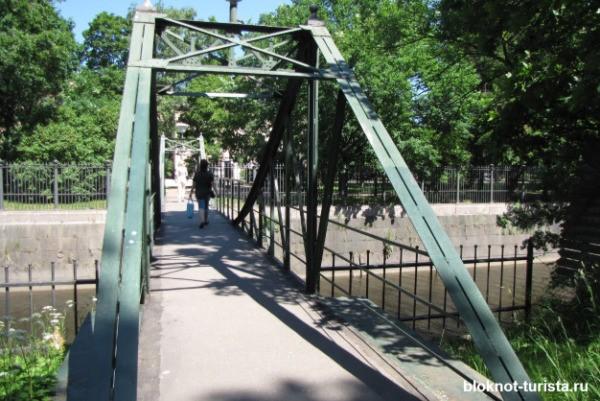 Парусный мост в Кронштадте