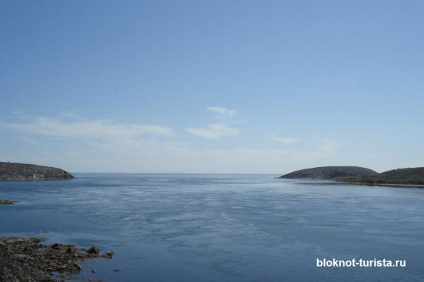 Белое море по пути на Соловки