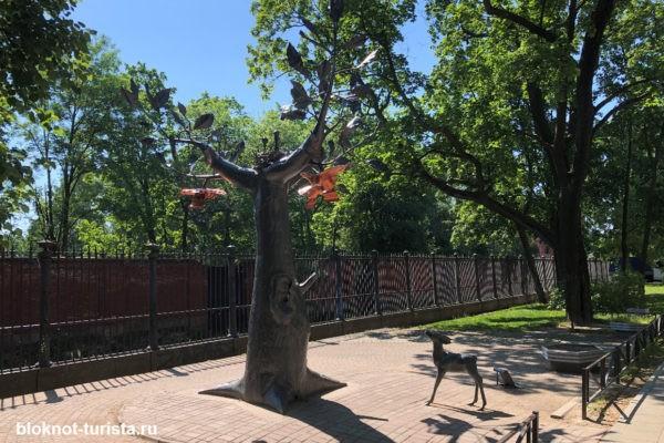 Дерево желаний - одна из современных достопримечательностей Кронштадта