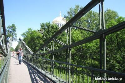 макаровский мост - одна из достопримечателньостей Кронштадта