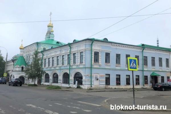 Подворье Соловецкого монастыря в Архангельске