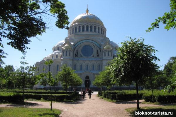 Морской Никольский собор - главная достопримечательность города