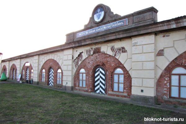 Один из фортов Кронштадта: Константин