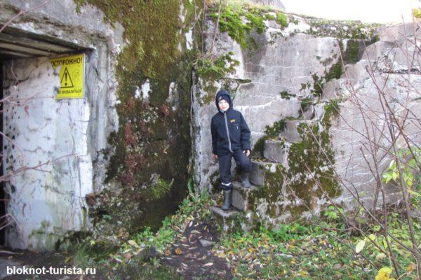 Мы изучаем форт Шанц в Кронштадте