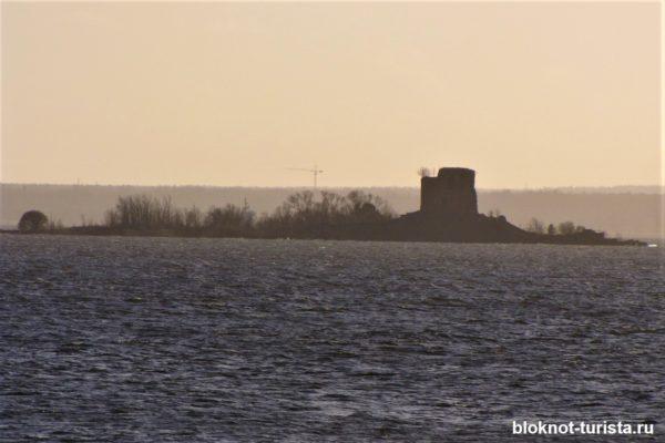 Форт Император Павел I (вид с набережной форта Константин)