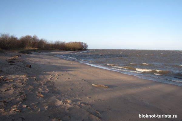 Живописные дюны форта Шанц