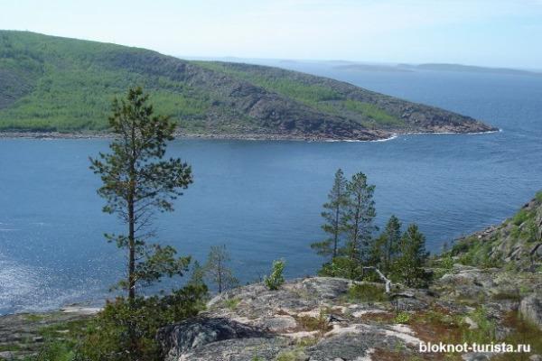 Природа на Белом море в Архангельской области