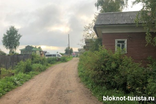 дороги в деревнях Архангельской области