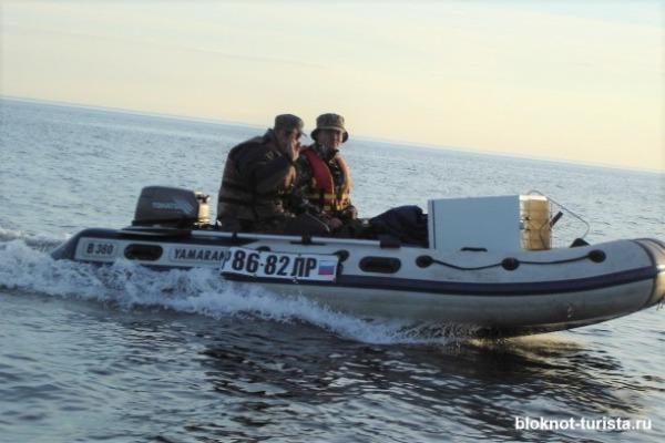Рыбалка на треску в Белом море
