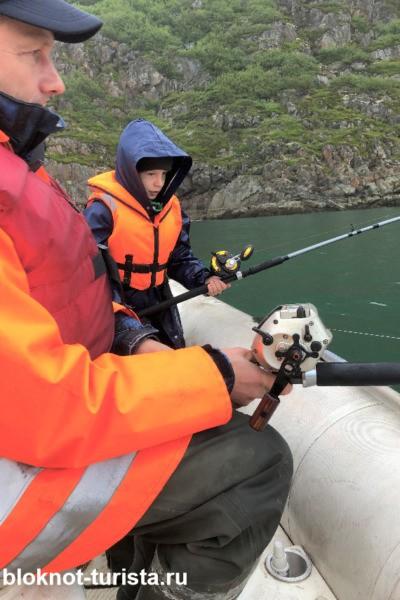 Ловля трески в Баренцевом море