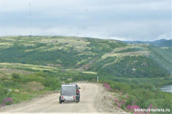 Красоты северной природы по дороге в Териберку